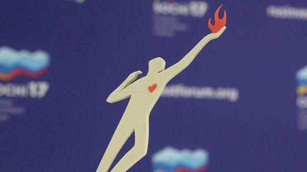 Статуэтка победителя Всероссийского Конкурса Лучший социальный проект года