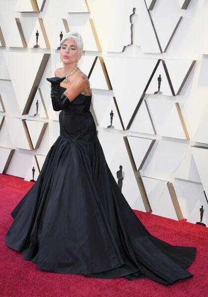 Леди Гага на церемонии вручения премии Оскар, 2019 год