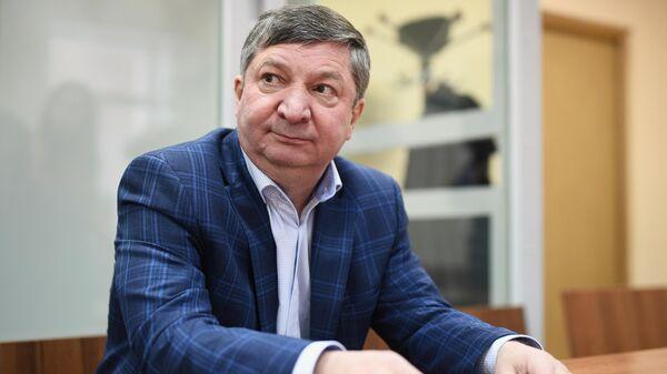 Халил Арсланов на заседании 235-го военного гарнизонном суда. 7 февраля 2020