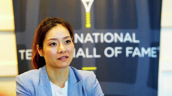 Бывшая китайская теннисистка Ли На