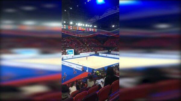 Аплодисменты для  гимнасток с Украины