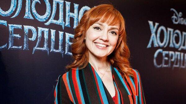 Российская певица Анна Бутурлина