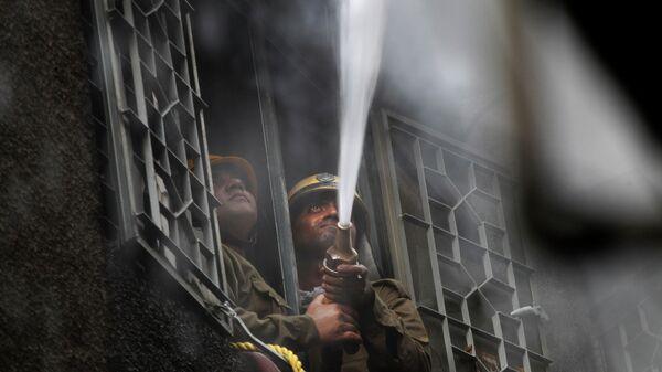 Пожарные в Индии