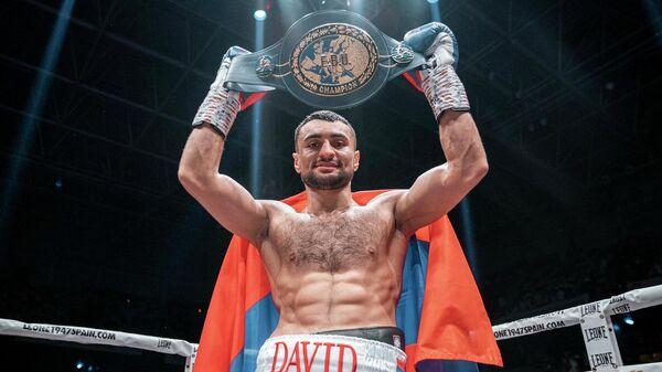 Российский боксер Давид Аванесян