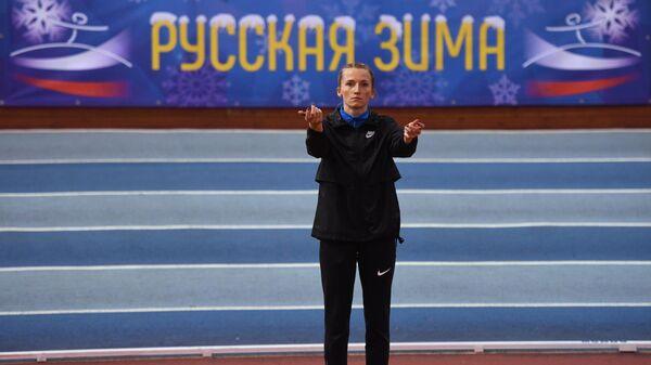Чемпионка мира по легкой атлетике Анжелика Сидорова