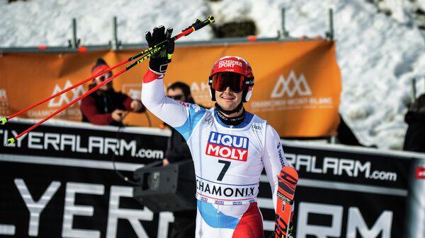 Швейцарский горнолыжник Лоик Мейяр