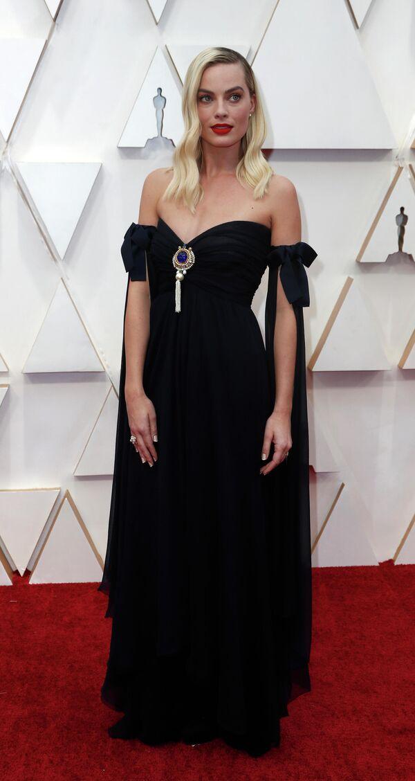 Актриса Марго Робби на церемонии вручения премии Оскар