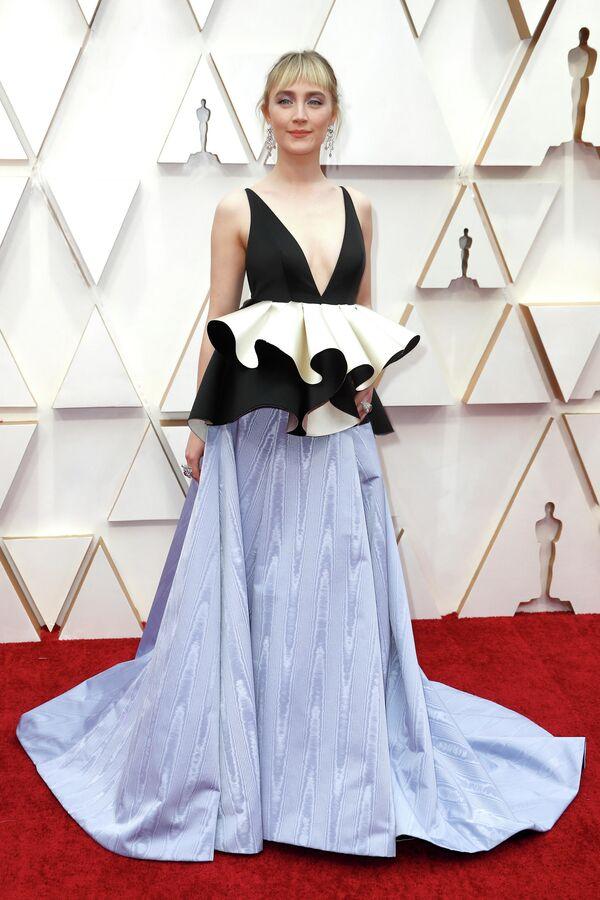 Актриса Сирша Ронан на церемонии вручения премии Оскар