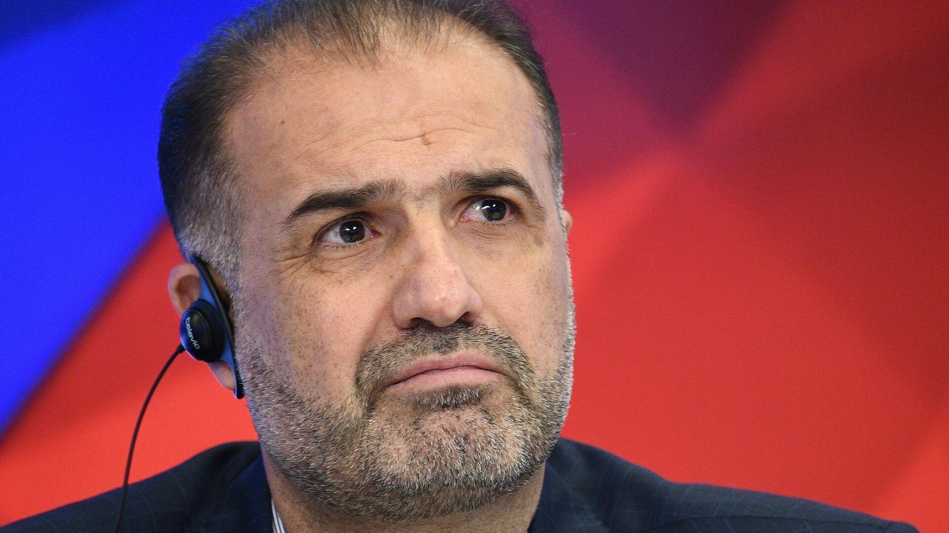 Чрезвычайный и полномочный посол Исламской Республики Иран в РФ Казем Джалали во время пресс-конференции в МИА Россия сегодня - РИА Новости, 1920, 25.09.2020