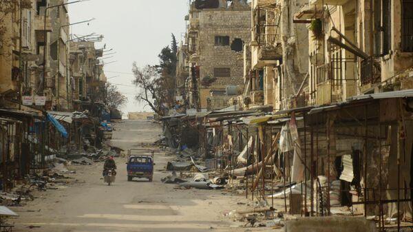 Город Мааррат-эн-Нууман в Сирии, освобожденный от боевиков