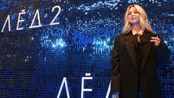 Певица Светлана Лобода на премьере фильма Лёд 2 в киноцентре Октябрь в Москве