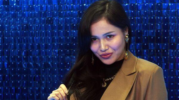 Певица Назима на премьере фильма Лёд 2