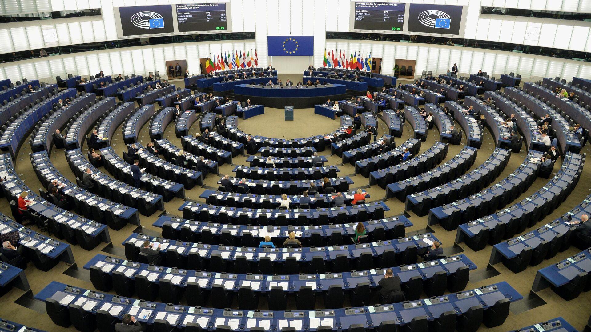 Пленарная сессия Европейского парламента в Страсбурге - РИА Новости, 1920, 13.09.2021