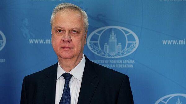 Директор Департамента Общеевропейского сотрудничества МИД РФ Николай Кобринец