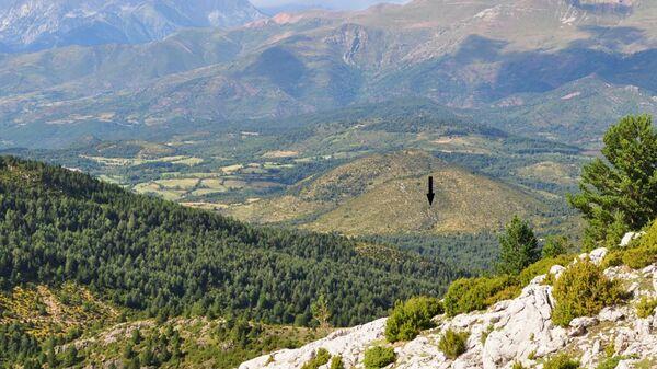 Место расположения пещеры Эль-Трокс в испанской провинции Уэска