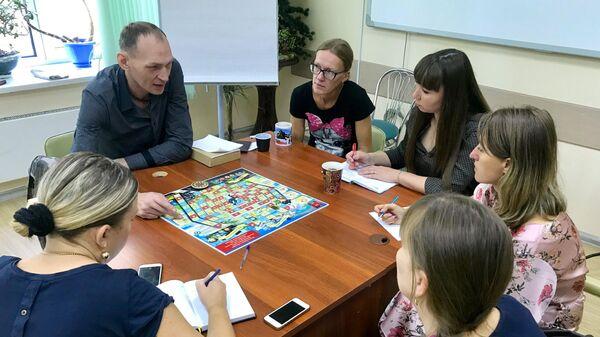Обучающий семинар с использованием социальной игры Я-человек