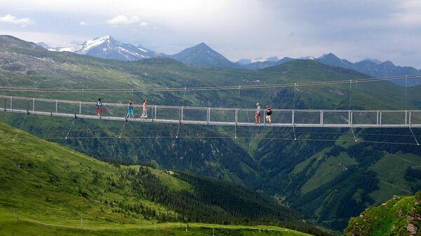 Мост над пропастью в Гастайне