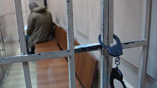 Арестованный в суде