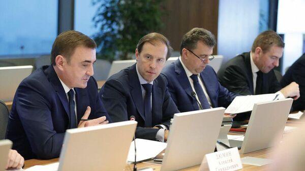 Губернатор Тульской области Алексей Дюмин на открытии заседания Госсовета РФ