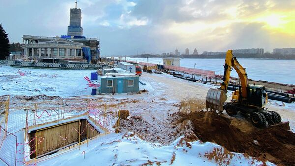 Подключение к водоснабжение причала Северного речного вокзала в Москве