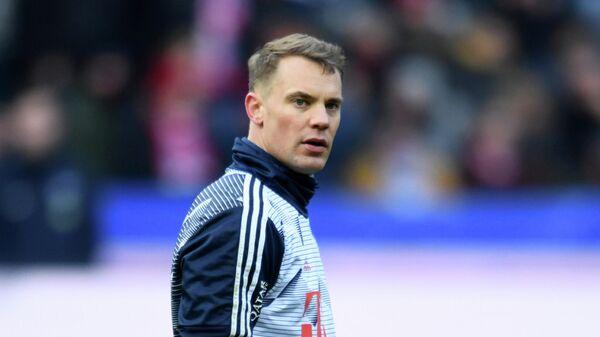 Вратарь и капитан Баварии Мануэль Нойер