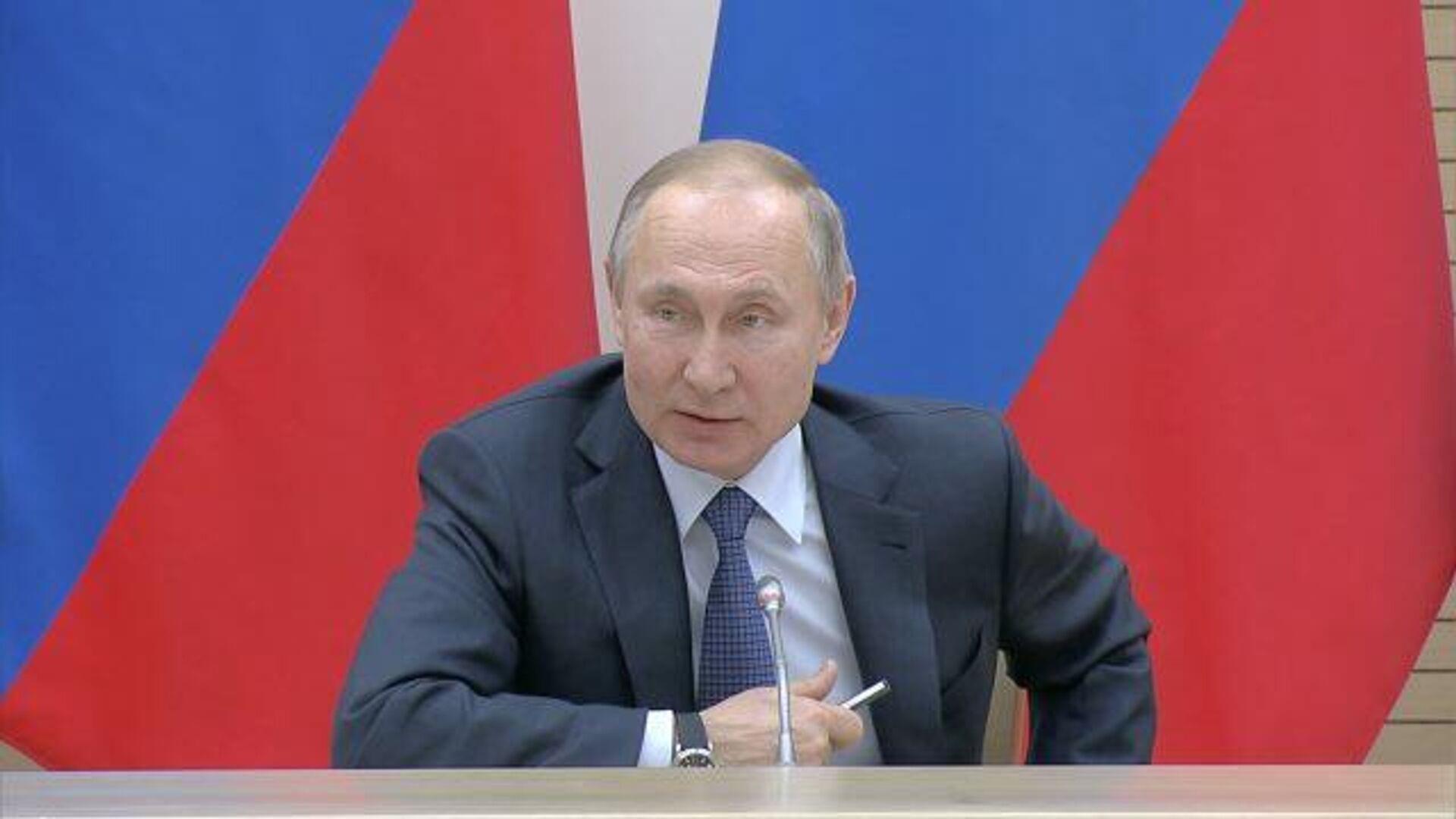 Путин: ядерное оружие может стать бессмысленным, но у России есть гиперзвуковое оружие - РИА Новости, 1920, 13.02.2020