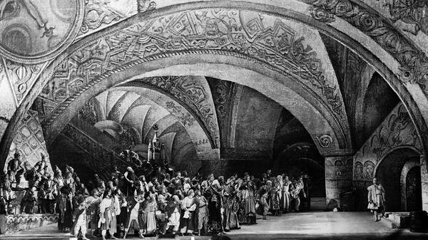 Опера Николая Римского-Корсакова Садко на сцене Государственного академического Большого театра Союза ССР