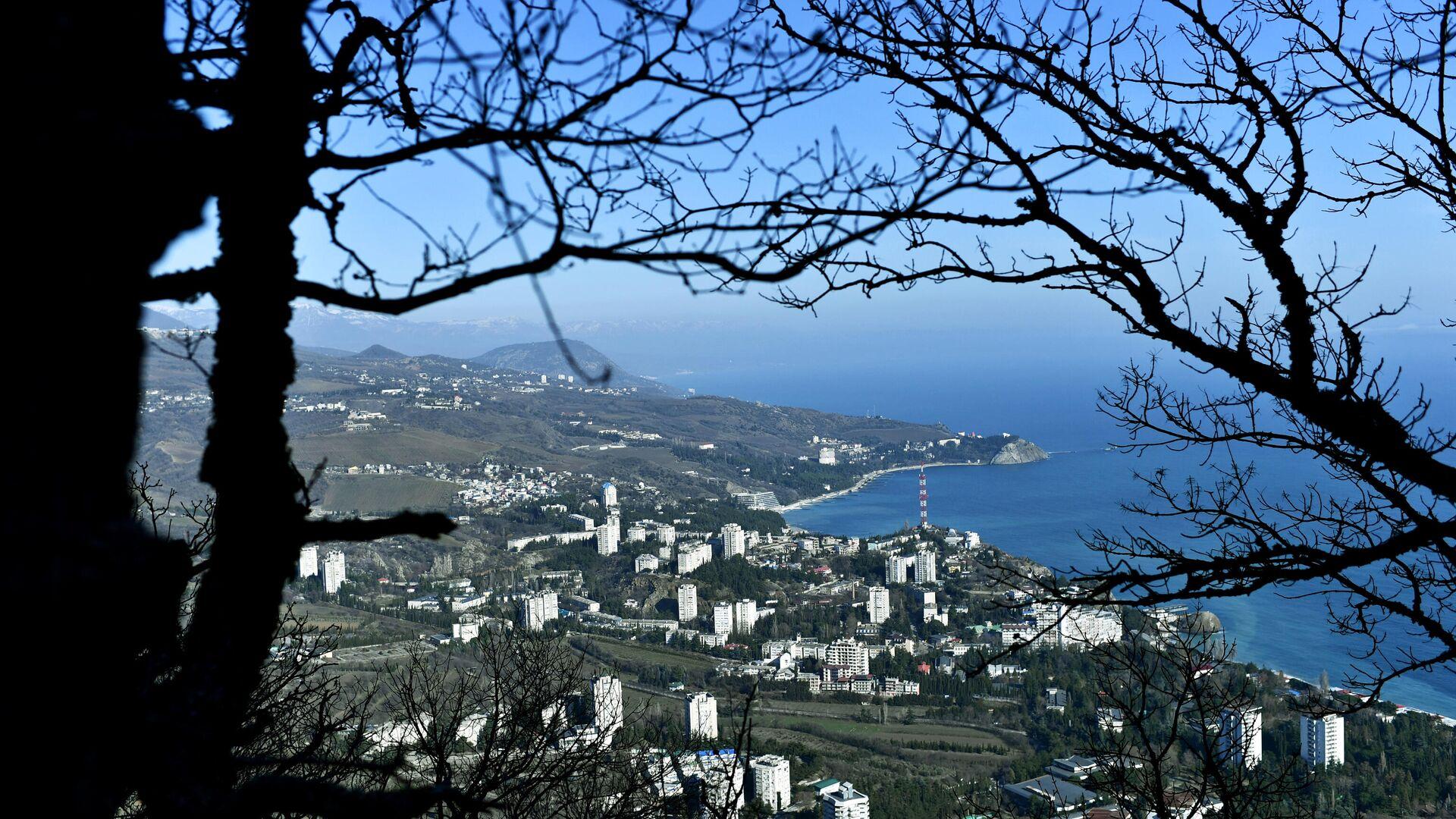 Вид на поселок Партенит на побережье Черного моря в Крыму - РИА Новости, 1920, 26.02.2021