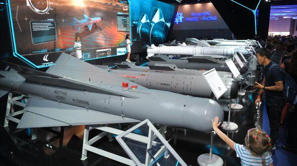 Cтенд корпорации Тактическое ракетное вооружение на Международном авиационно-космическом салоне МАКС-2019