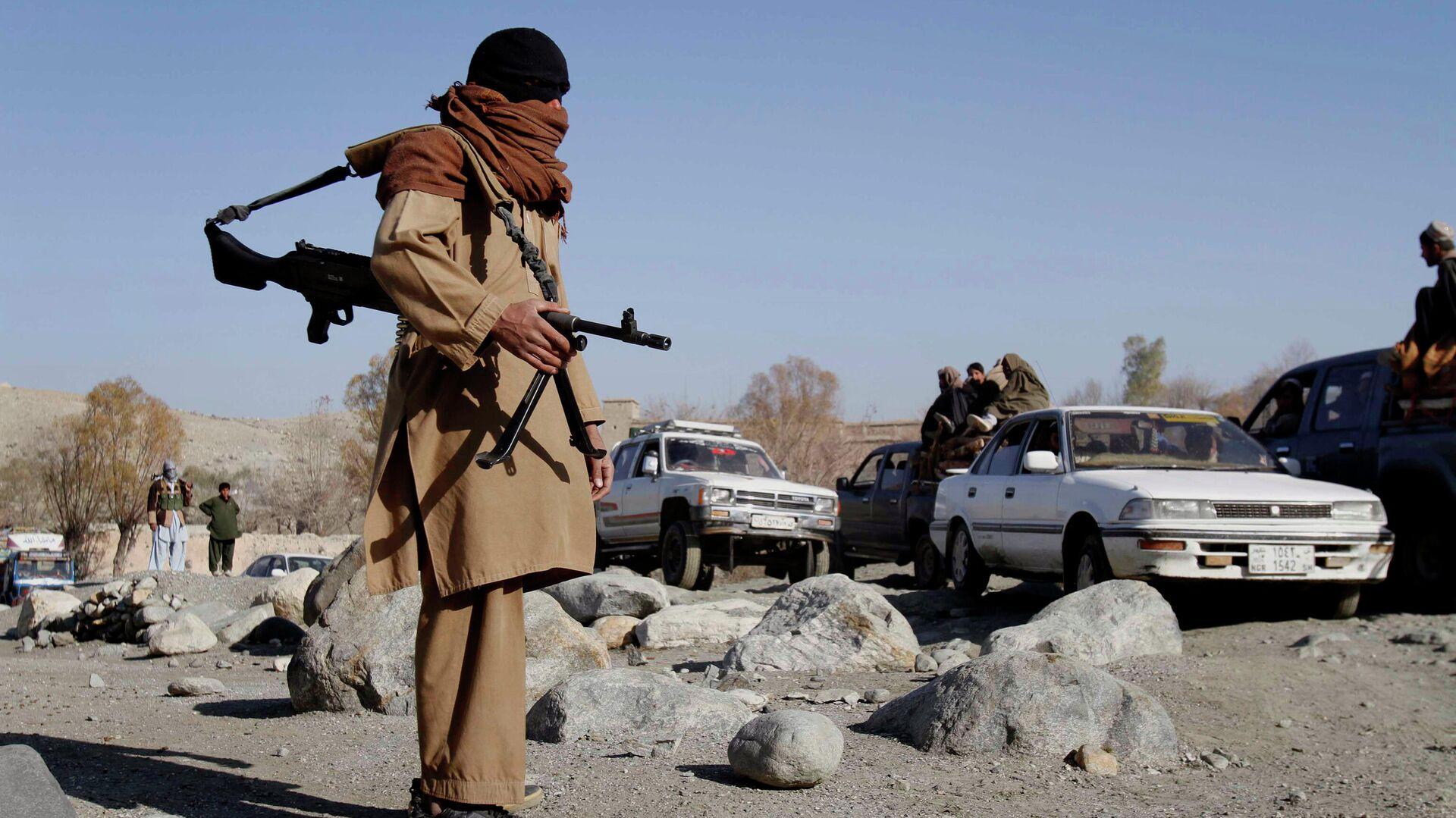 Боевики радикального движения Талибан* в Афганистане - РИА Новости, 1920, 05.07.2021