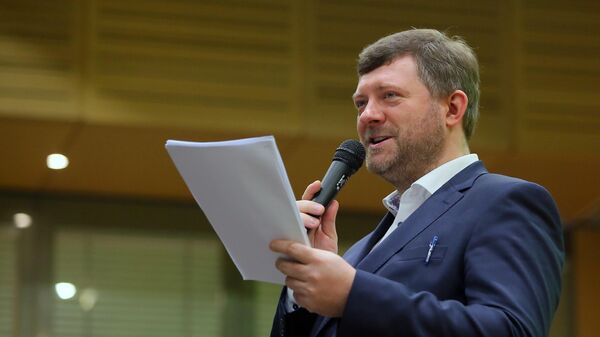 Председатель партии Слуга народа Александр Корниенко