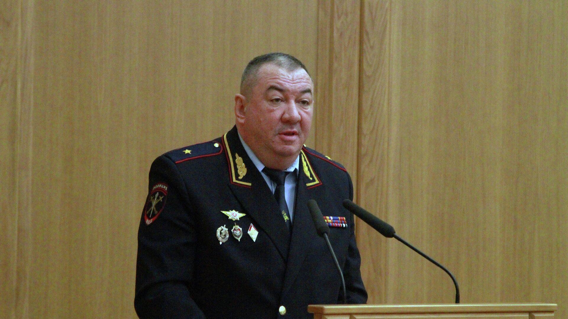 Генерал-майор полиции Сергей Плахих - РИА Новости, 1920, 17.02.2020