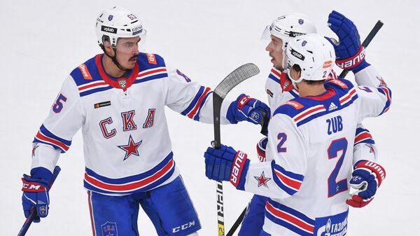 Хоккеисты петербургского СКА