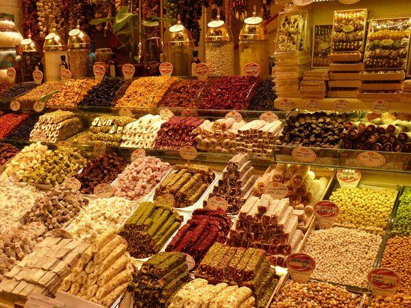 Базар в Стамбуле