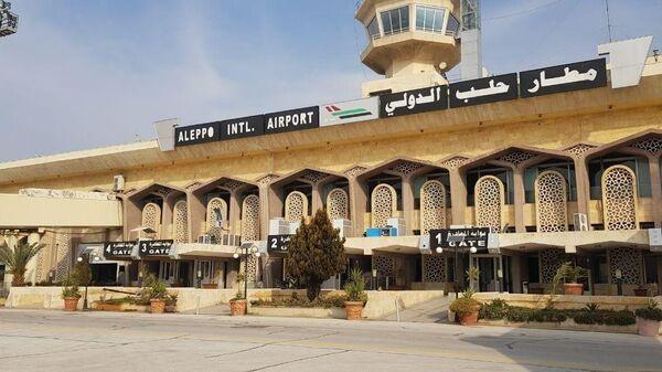 Аэропорт сирийского Алеппо