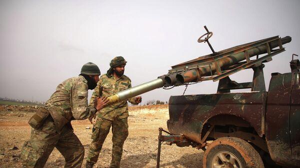 Протурецкие боевики в Сирии