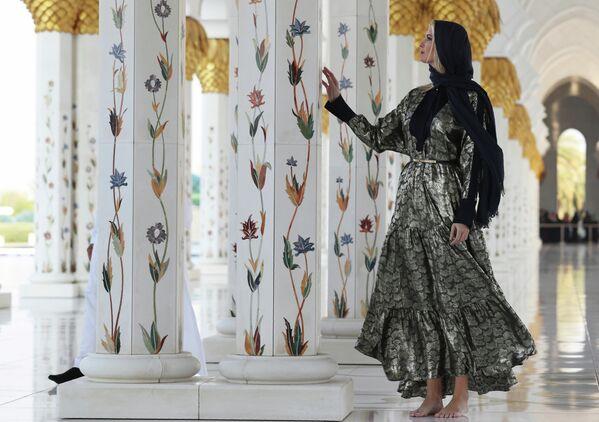Иванка Трамп посещает Великую мечеть шейха Зайда в Абу-Даби