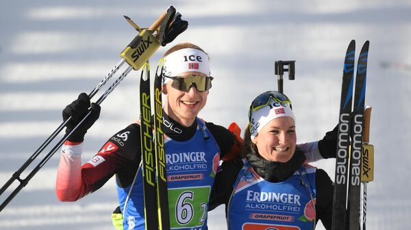 Йоханнес Бё и Марте Рёйселанд (Норвегия)