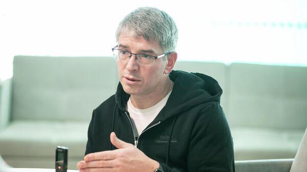 Глава столичного Департамента предпринимательства и инновационного развития Алексей Фурсин