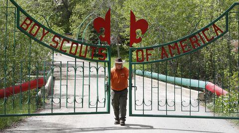 Лагерь, принадлежащий Совету Бойскаутов Америки по национальному парку штата Юта