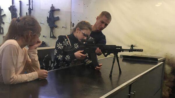 Тир в Тульском государственном музее оружия