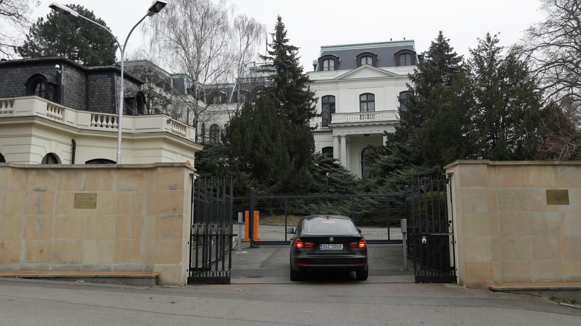 Посольство России в Чехии - РИА Новости, 1920, 19.04.2021