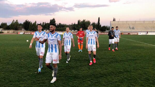 Футболисты латвийской Риги