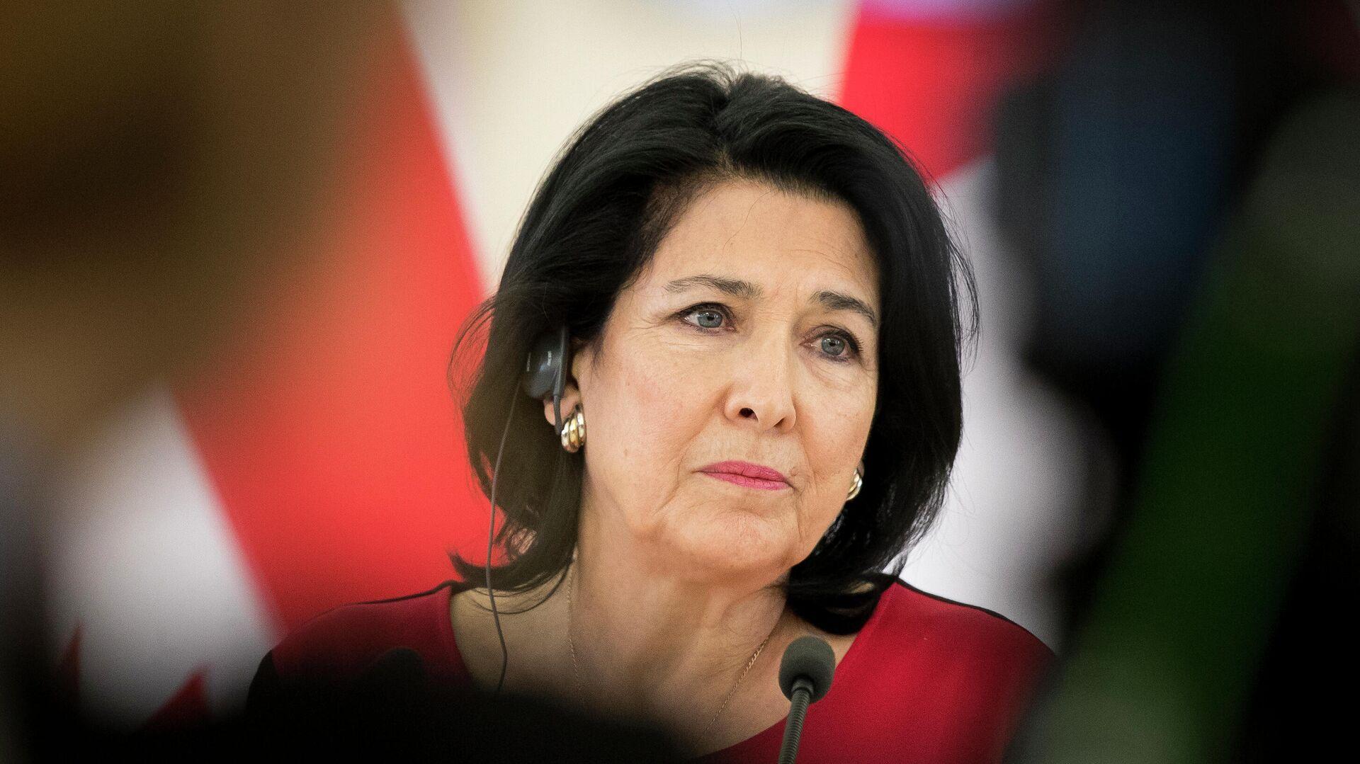 Президент Грузии заявила, что проголосовала за европейское будущее страны -  РИА Новости, 31.10.2020