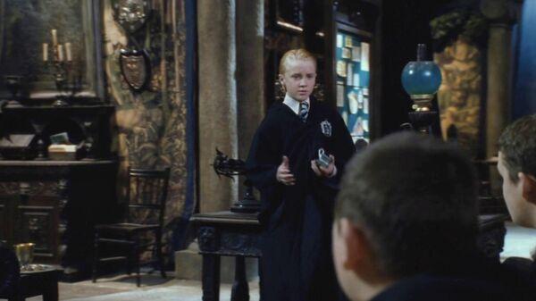 Кадр из фильма Гарри Поттер и Тайная комната