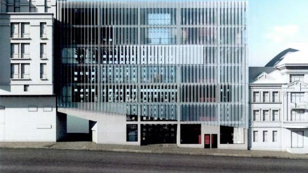 Проект административно-делового центра в Красносельском районе Москвы
