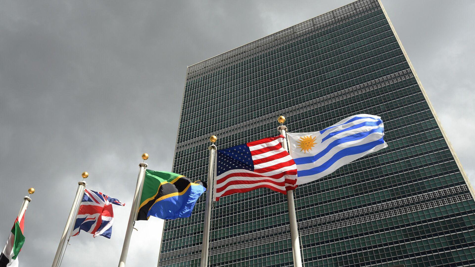 Штаб-квартира Организации Объединенных Наций в Нью-Йорке - РИА Новости, 1920, 24.04.2020
