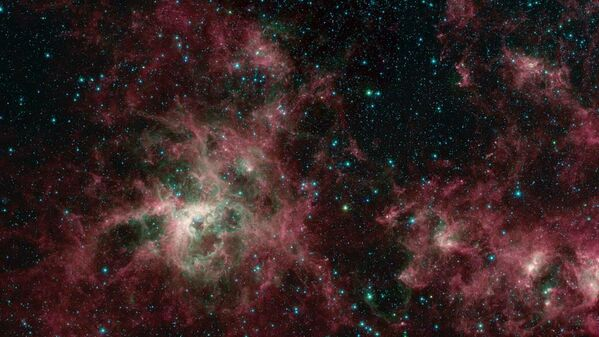Туманность Тарантула в галактике Большое Магелланово Облако