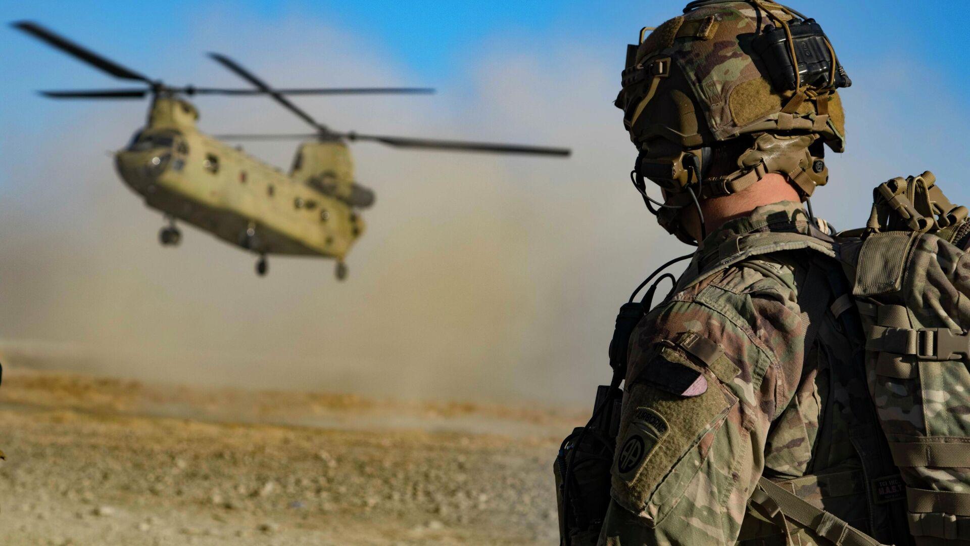 Американские военные на юго-востоке Афганистана - РИА Новости, 1920, 08.05.2021