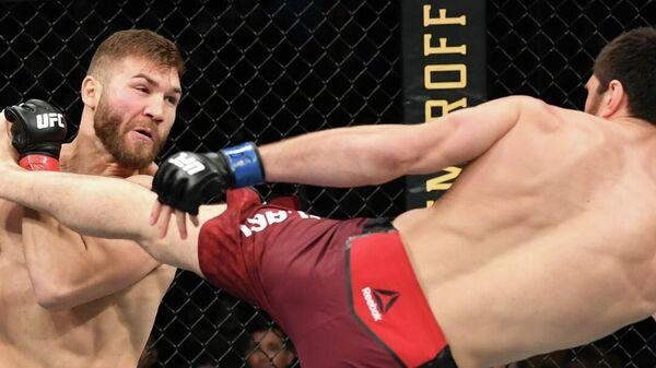 В UFC произошел еще один скандал с участием российского бойца